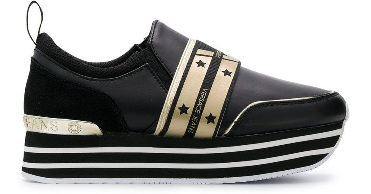 780a30049ae Lyst - Versace Jeans Platform Sneakers in Black