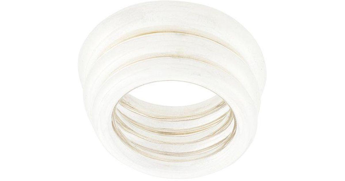 Brahma set of rings - Metallic Charlotte Chesnais jc2I1Tw
