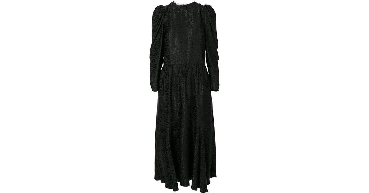 textured midi dress - Black Stella McCartney vN8EA