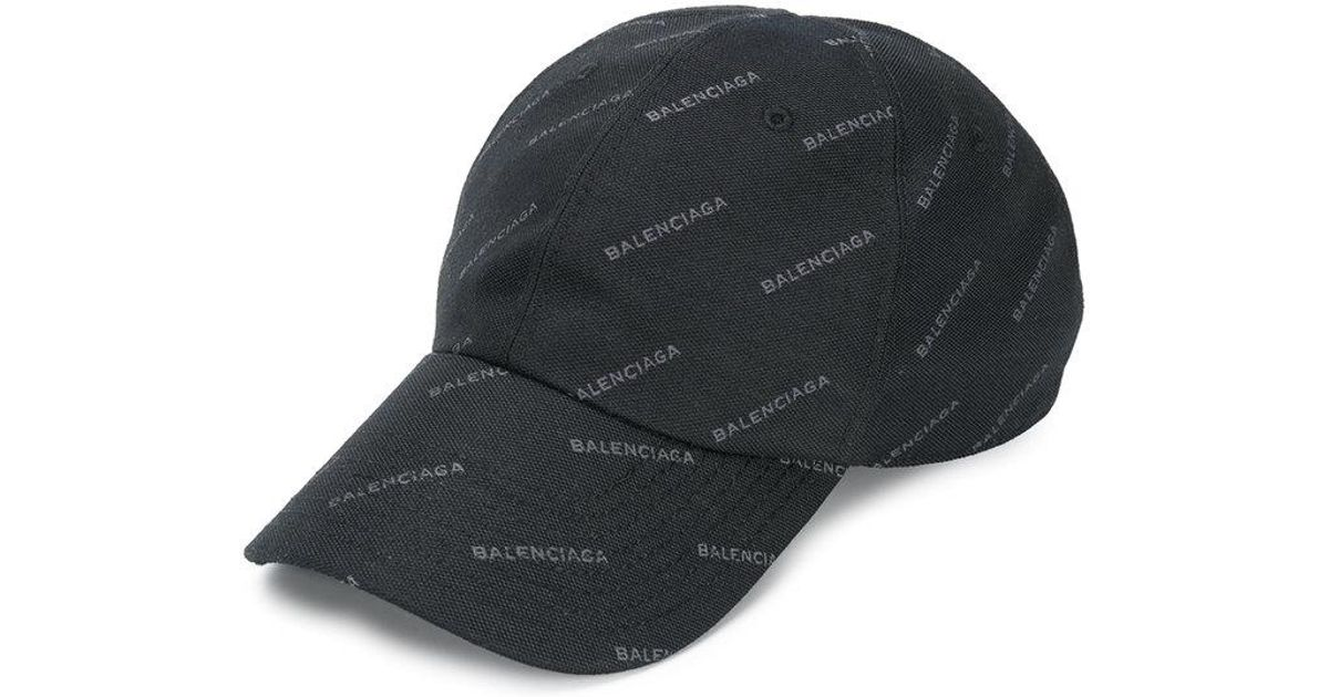 522b07c2897 Lyst - Balenciaga All Over Hat in Black for Men