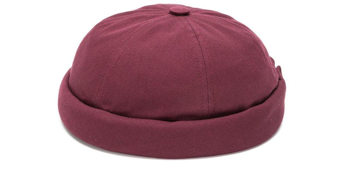 ed59a3d158e76 Lyst - Beton Cire Miki Sailor Cap in Purple