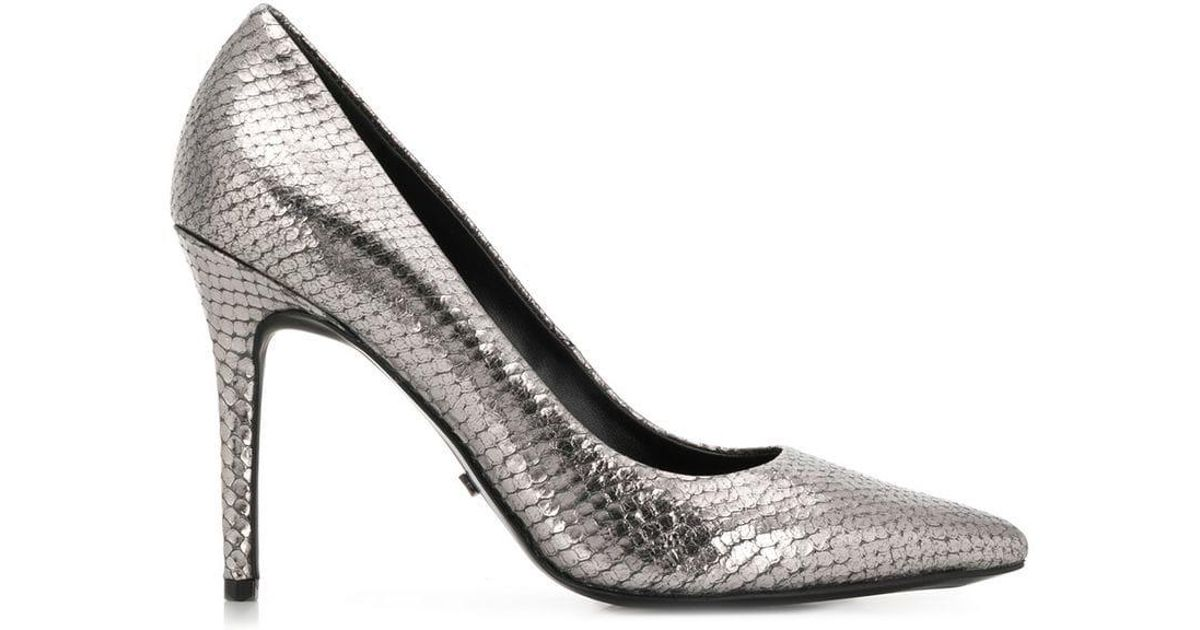 a7b08aaa737f Lyst - MICHAEL Michael Kors Claire Pumps in Metallic