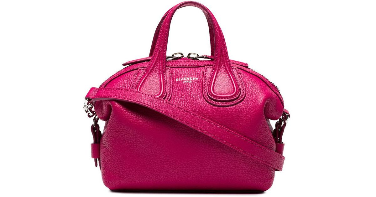 d113f34ffbf4 Givenchy Mini Pink Nightingale Bag in Pink - Lyst