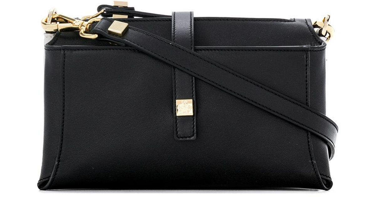 abd08c08e68d Lyst - Giancarlo Petriglia Multiple Compartments Shoulder Bag in Black