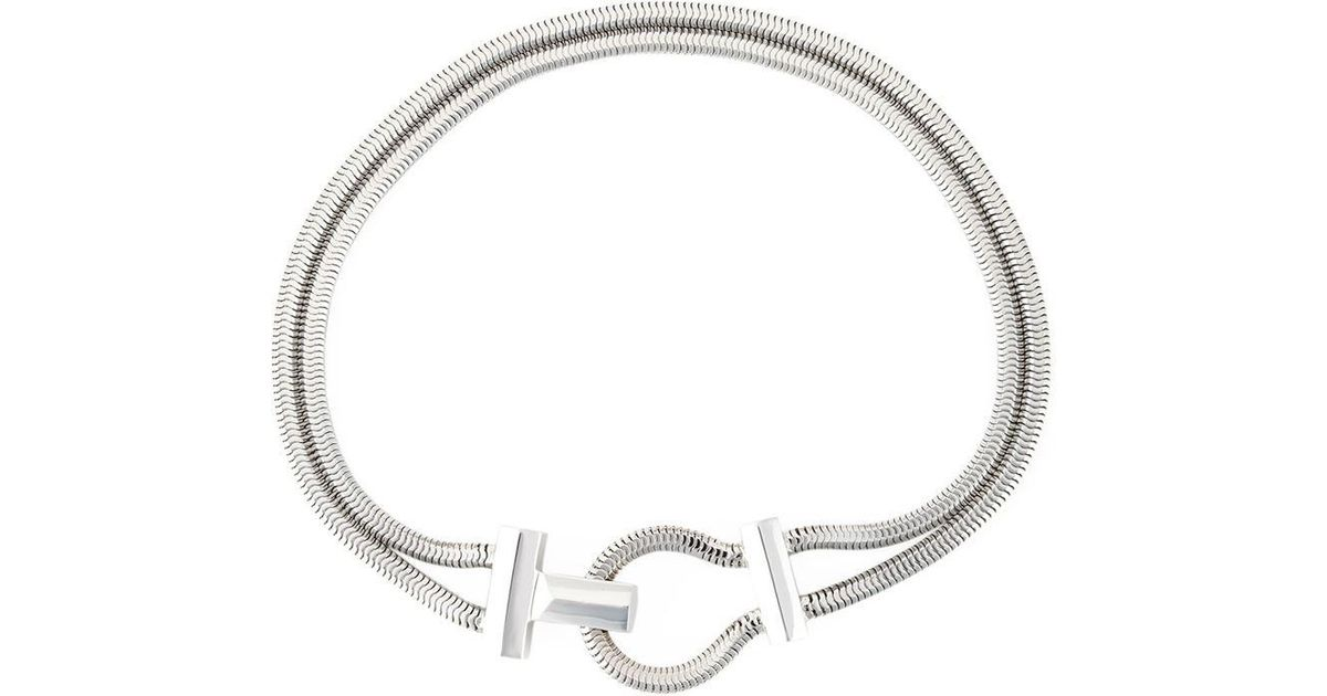 Lara Bohinc Schumacher choker necklace - Metallic eXiITl9hA