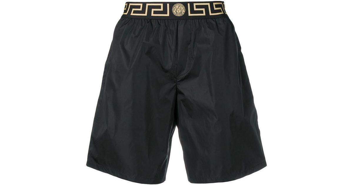 05e07e98769e Lyst - Versace Medusa Swim Shorts in Black for Men