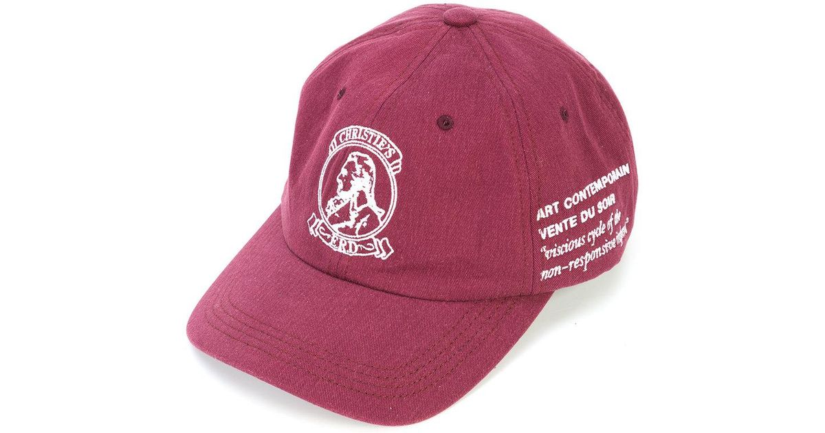six panel logo cap - Pink & Purple Enfants Riches Deprimes MGjLSVpv4L