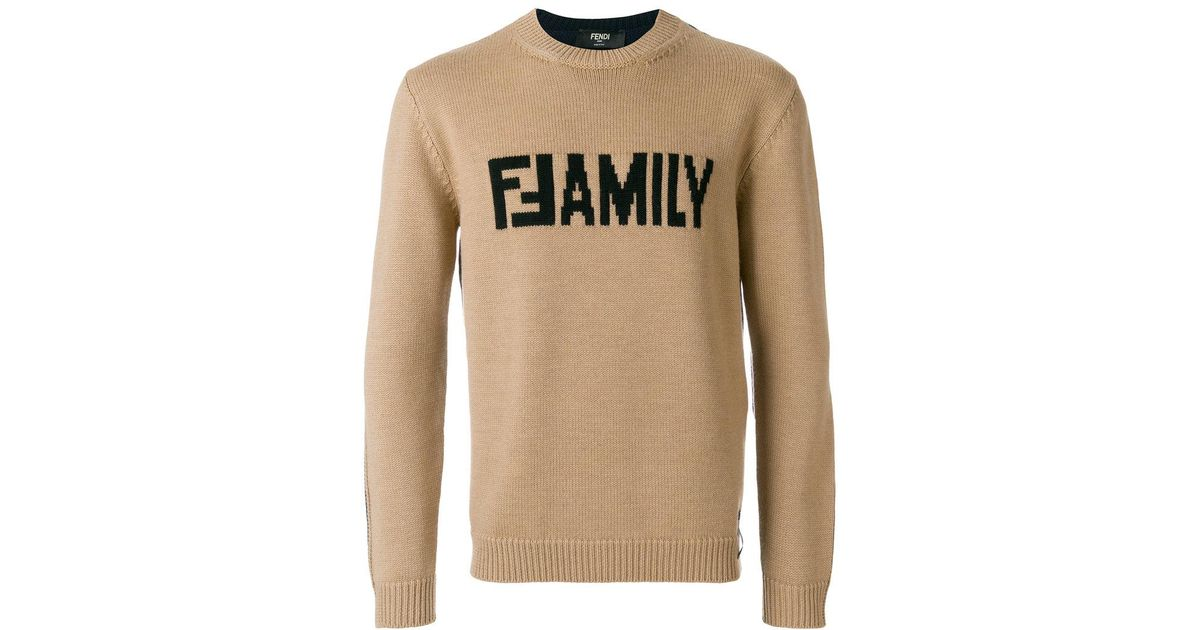 f94df785d715 Lyst - Fendi Family Sweater for Men