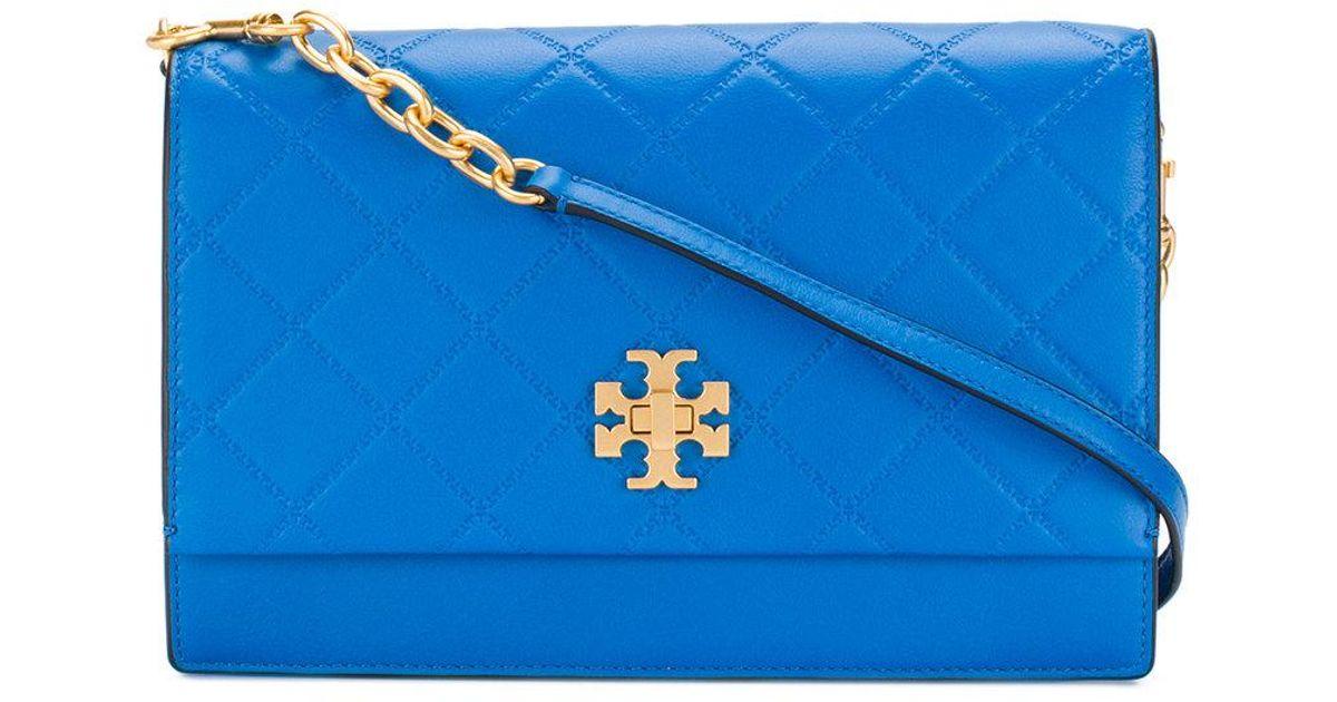 93d826a347f3 Tory Burch Georgia Crossbody Bag in Blue - Lyst
