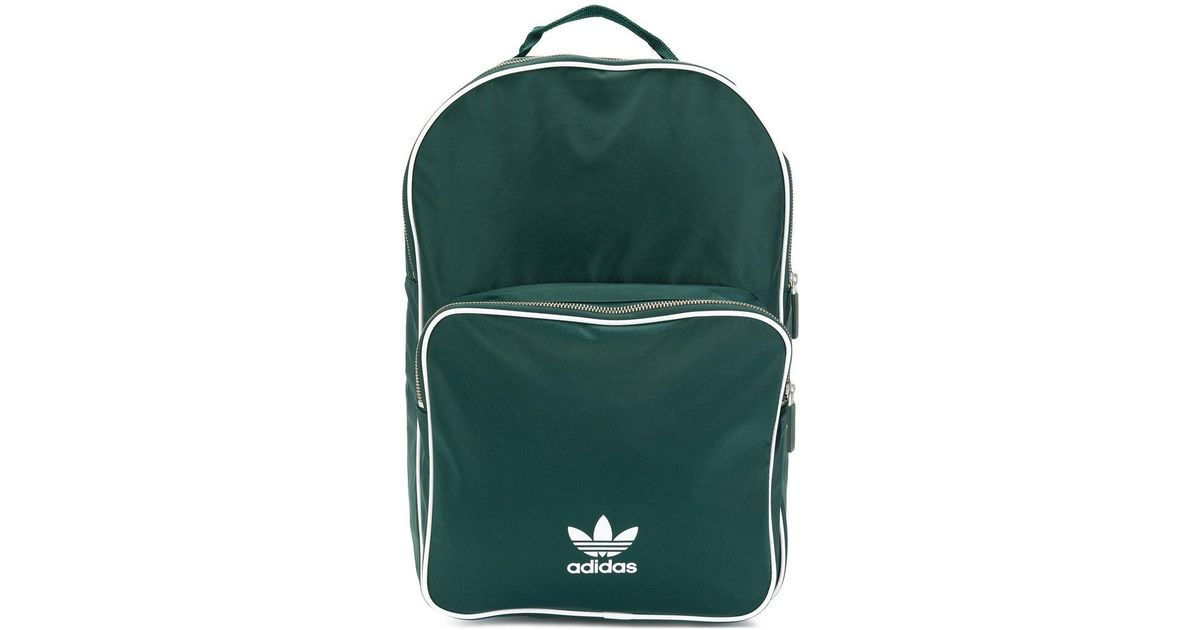 Adidas Originals Classic Backpack in Green for Men - Lyst 9242df441f271