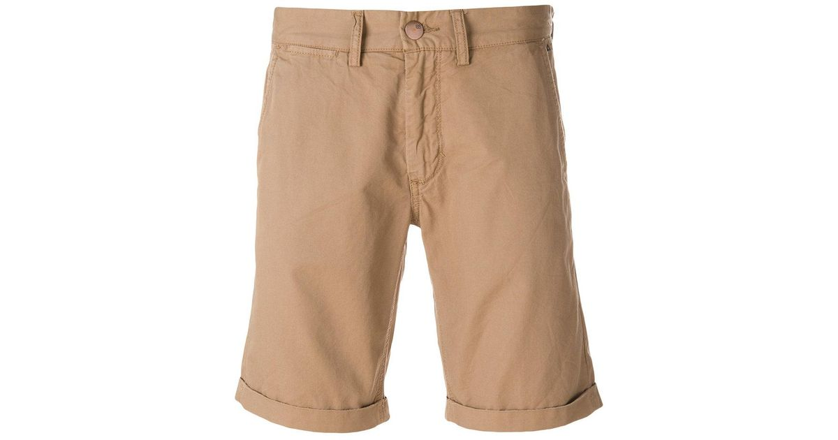 8cc6326a34 Lyst - Sun 68 Fold Chino Shorts in Brown for Men