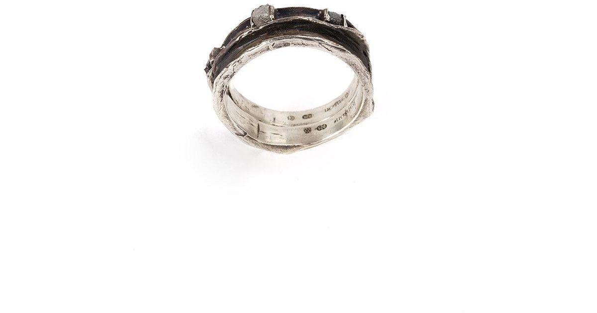 Henson Cavity Set ring - Metallic VGDZwkbAl