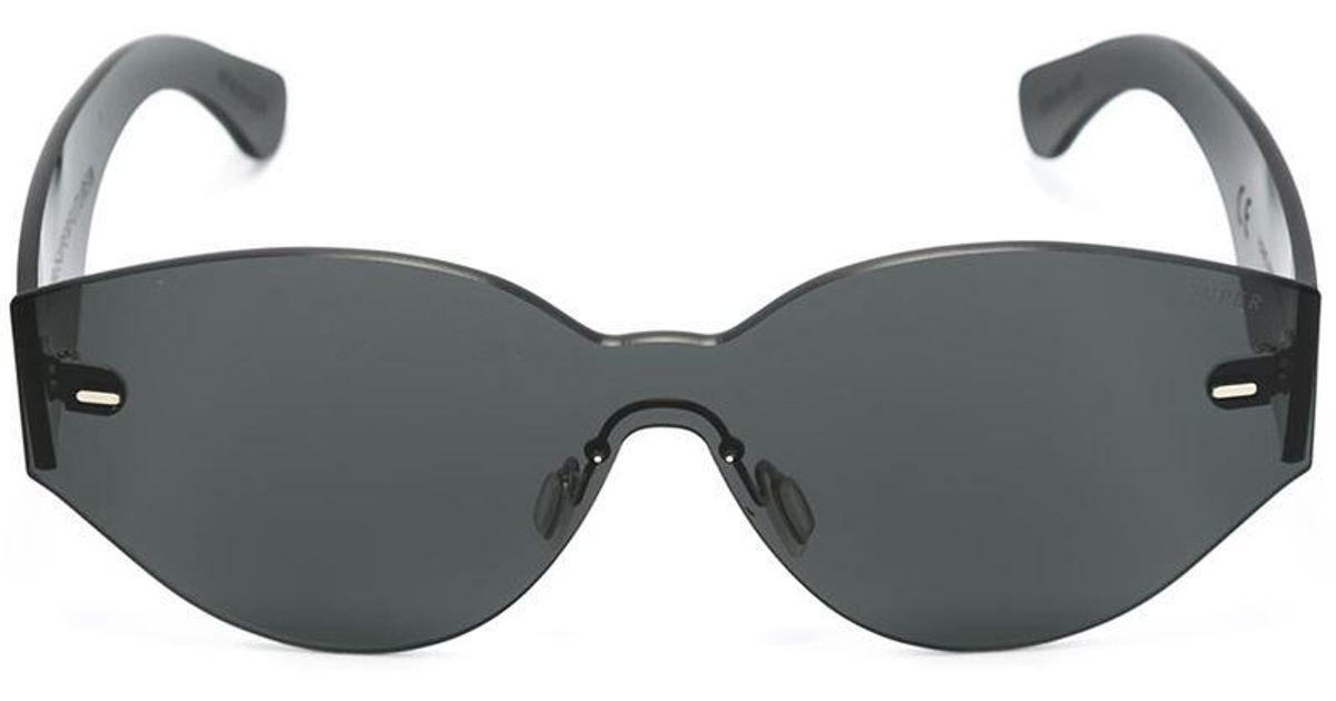 bec599d372480 Lyst - Retrosuperfuture  tuttolente Drew Mama  Sunglasses in Black