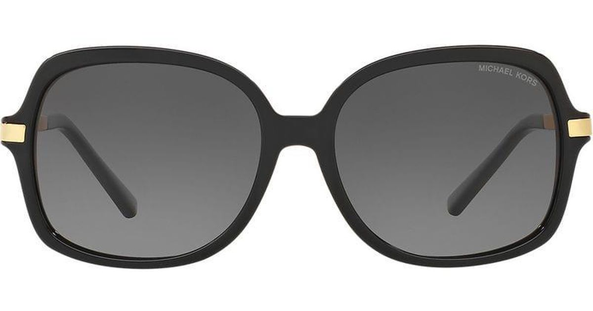 cb78b34f62409 Michael Kors Oversized Tinted Sunglasses in Black - Lyst