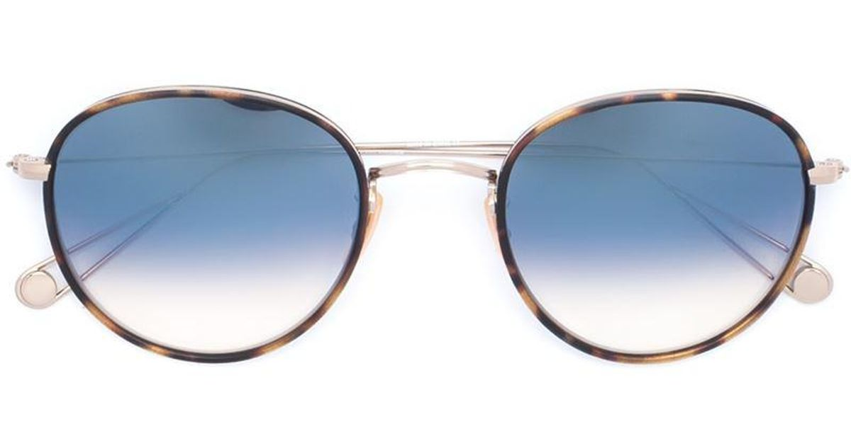 495b382d976 Lyst - Garrett Leight Paloma Sunglasses in Metallic