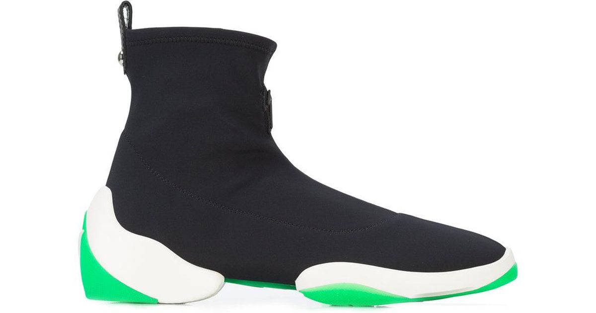 Giuseppe ZanottiCamouflage neoprene high-top sneaker LIGHT JUMP HT1