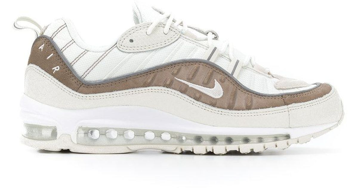 fb21aa8f86f9 Lyst - Nike Air Max 98 Sepia Sneakers in White for Men