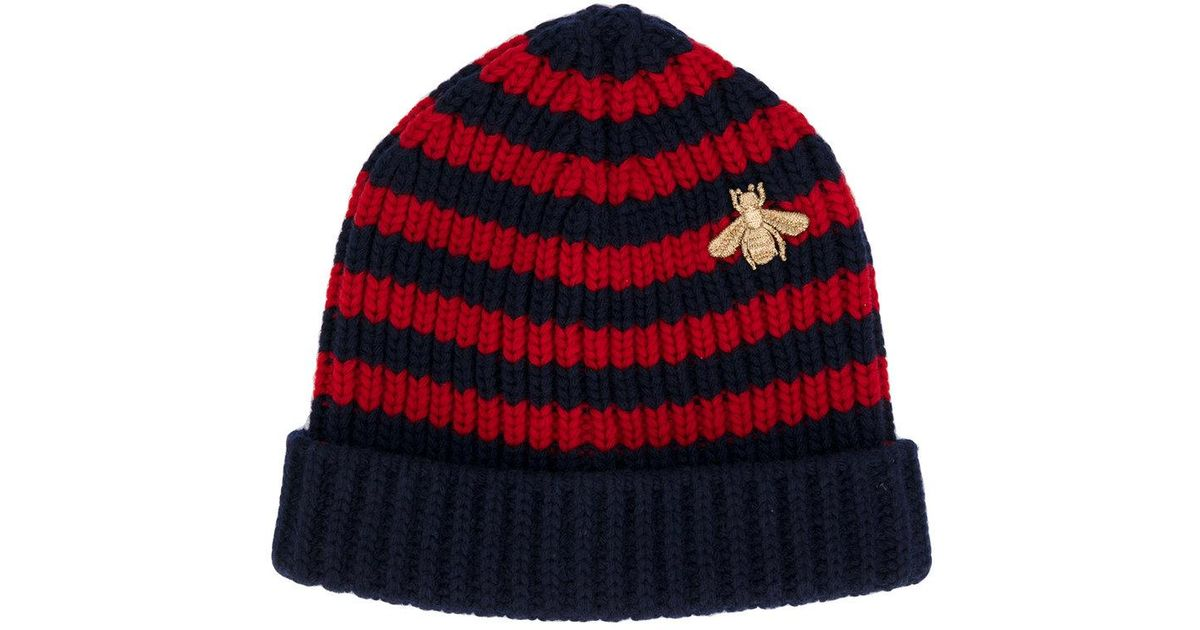 Striped Ribbed Cashmere Beanie Etro VY25U8xlrE