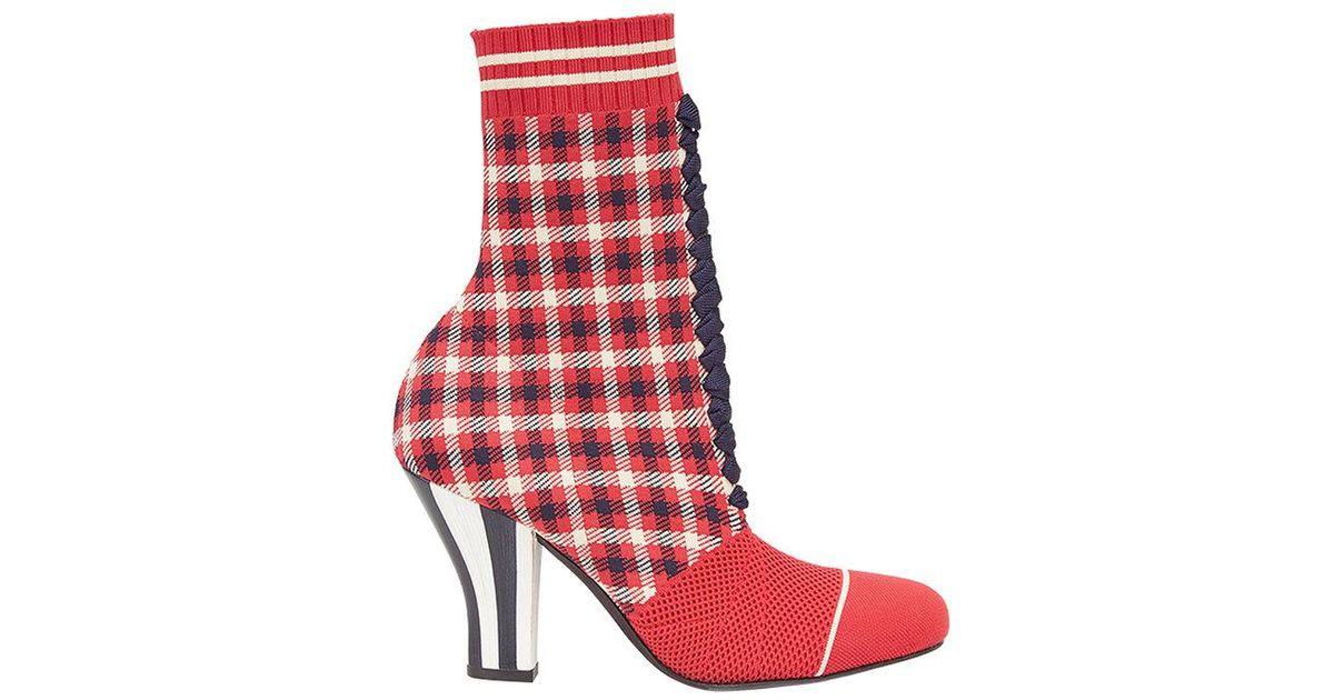 Rockoko tartan boots - Multicolour Fendi Pick A Best Online 5bRPede