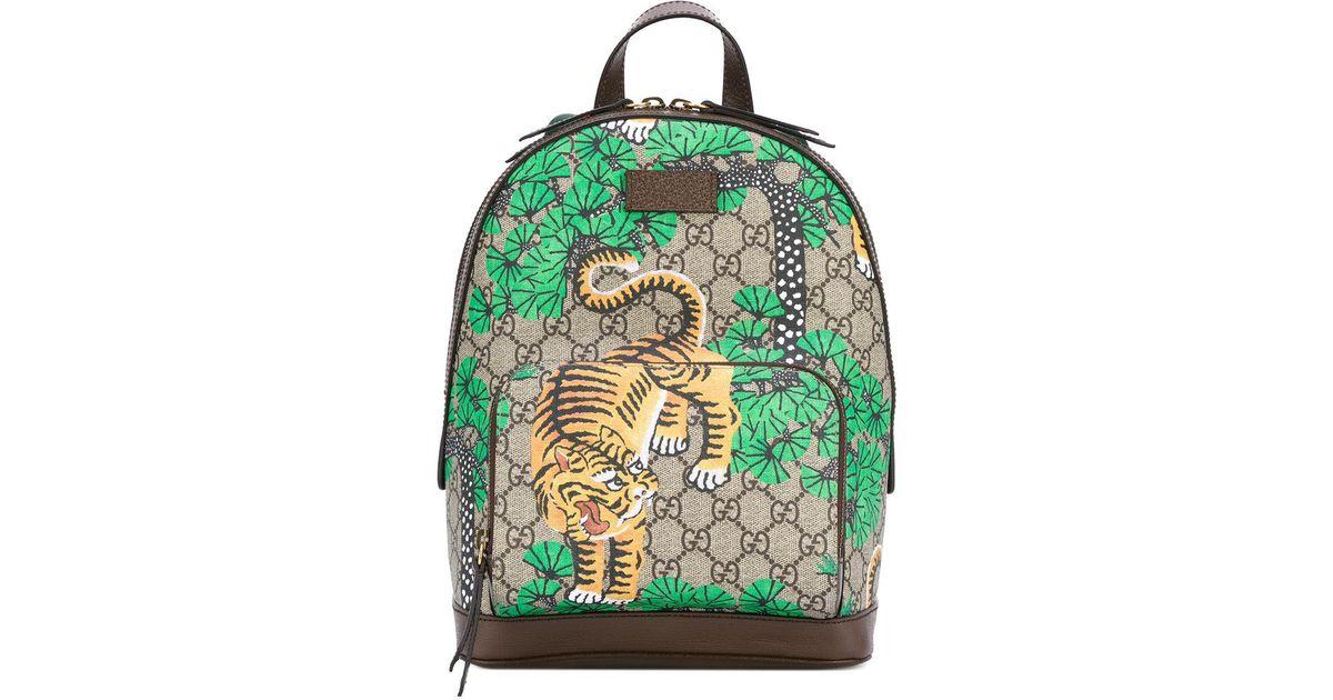 891a6f624c01 Gucci Bengal Tiger Print Backpack - Lyst
