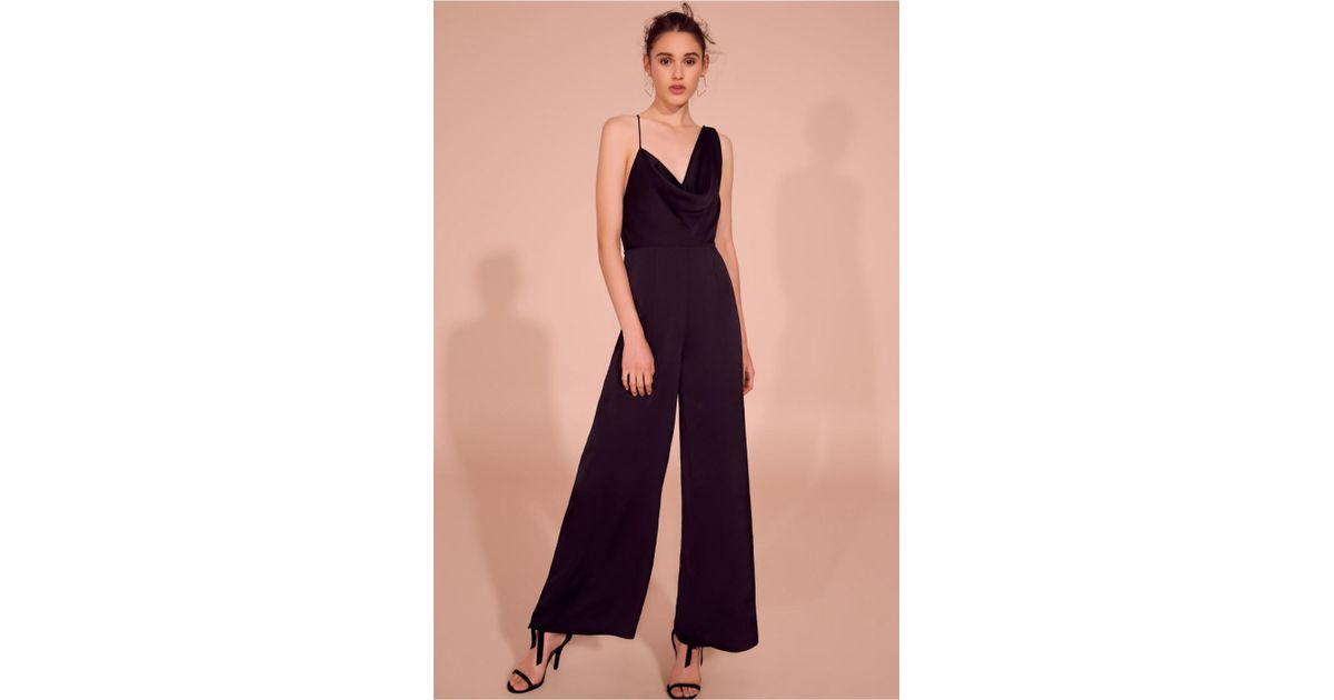 16c5589a73f Lyst - Keepsake Romance Jumpsuit in Black