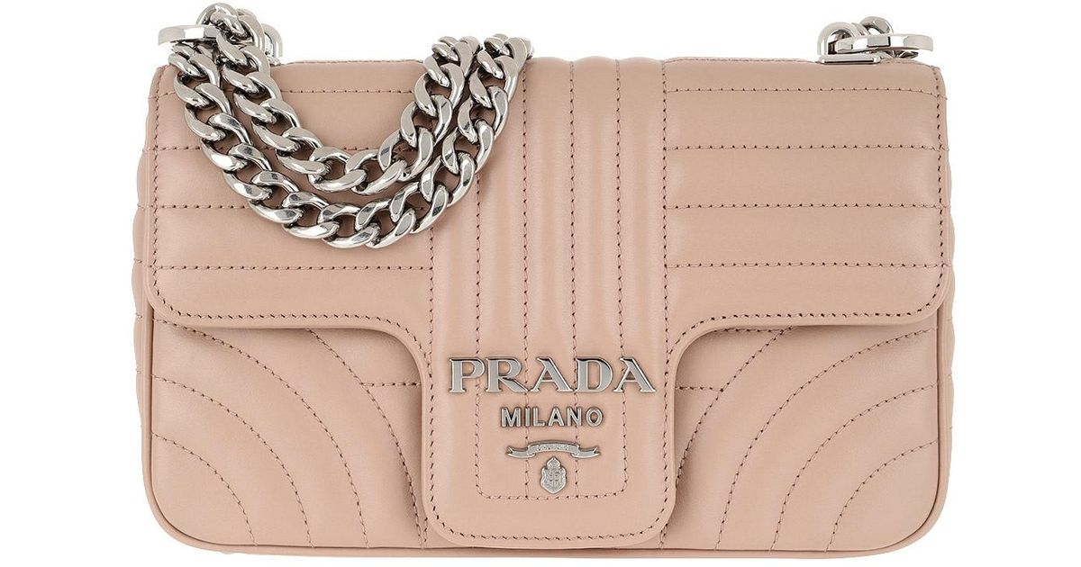 75106621f5fd84 Prada Diagramme Crossbody Bag Cipria - Lyst