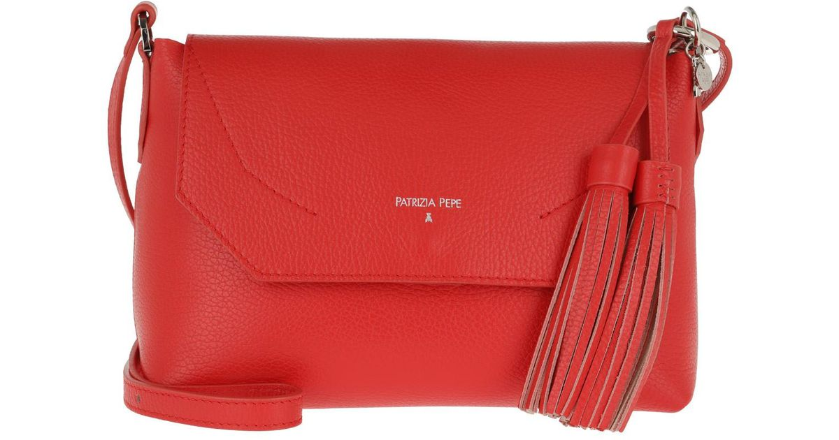 7268db0fe6 Patrizia Pepe Flap Crossbody Bag Mars Red moon Sand in Red - Lyst