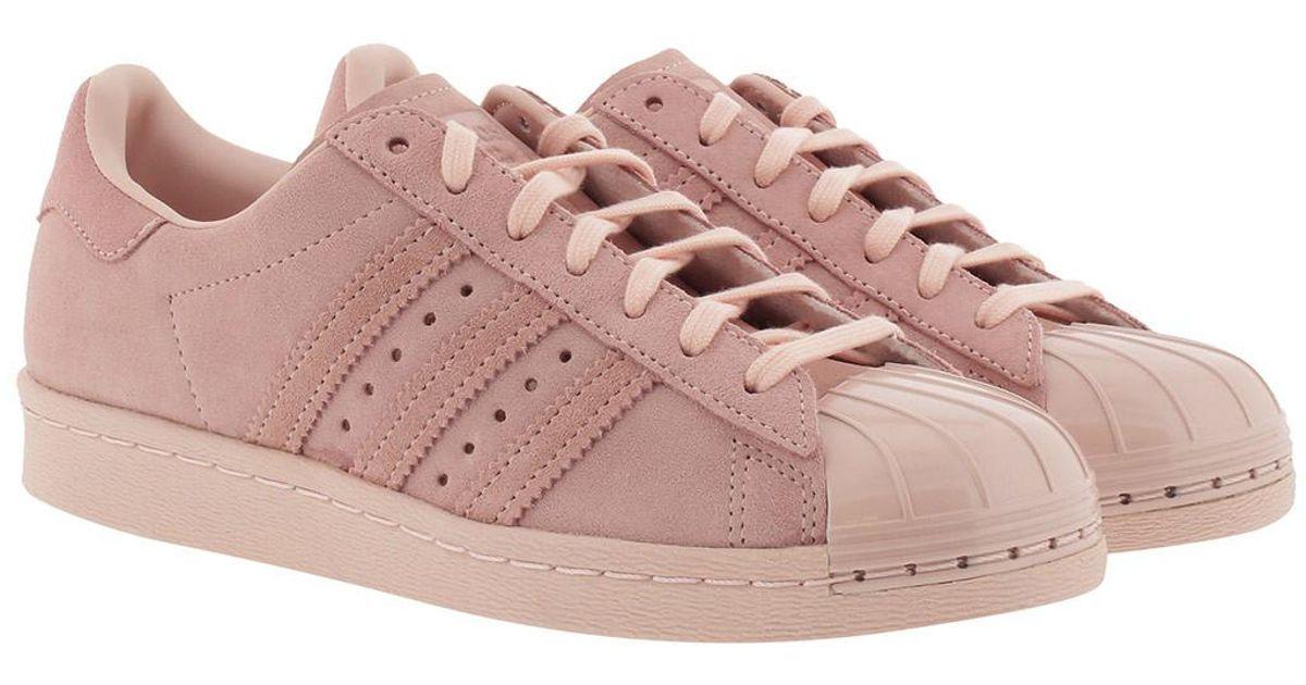 b1c9b36ab3f77 adidas Originals Superstar 80s Metal Icey Pink in Pink - Lyst
