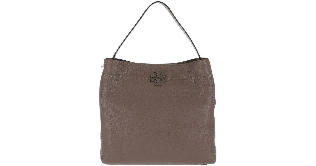 256a83ff93d13 Tory Burch Mcgraw Hobo Bag Silver Maple in Metallic - Lyst