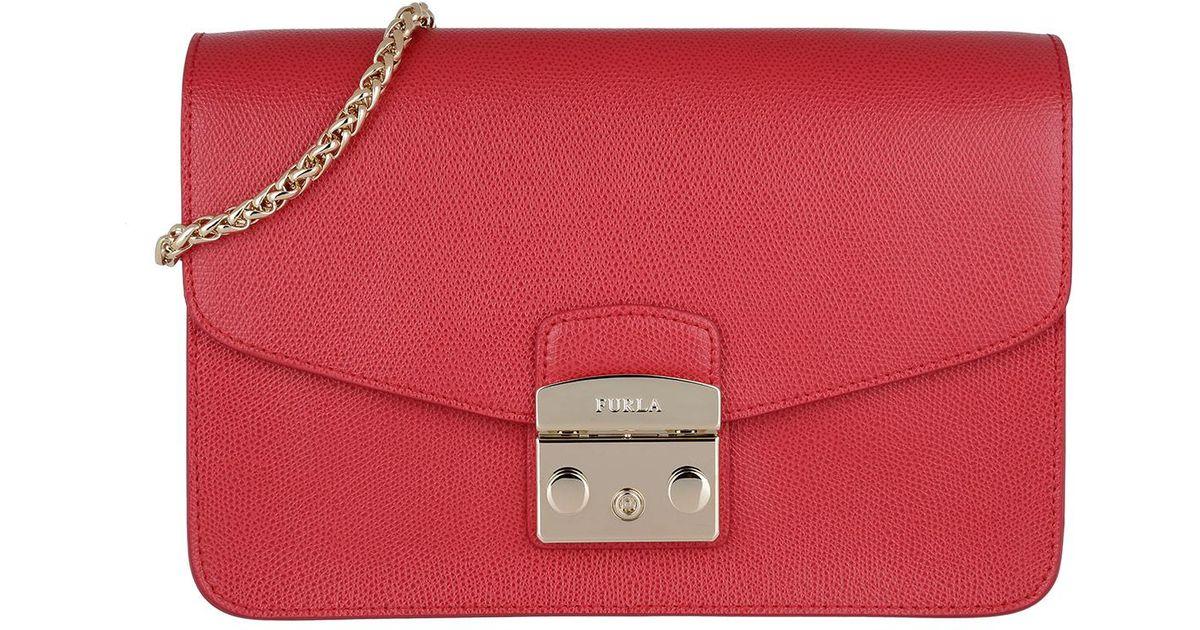 Lyst S Furla Metropolis Red Bag Shoulder Ruby N0OPw8nkX