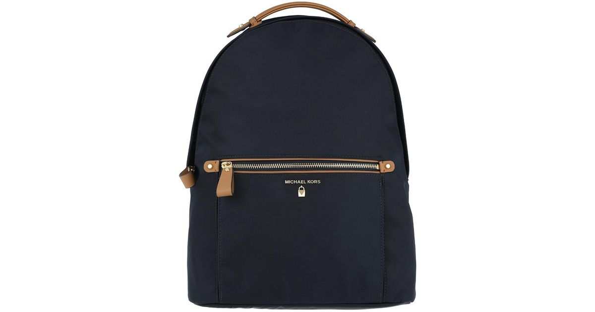 144b5d91c820 Michael Kors Nylon Kelsey Lg Backpack Admiral in Blue - Save 18% - Lyst
