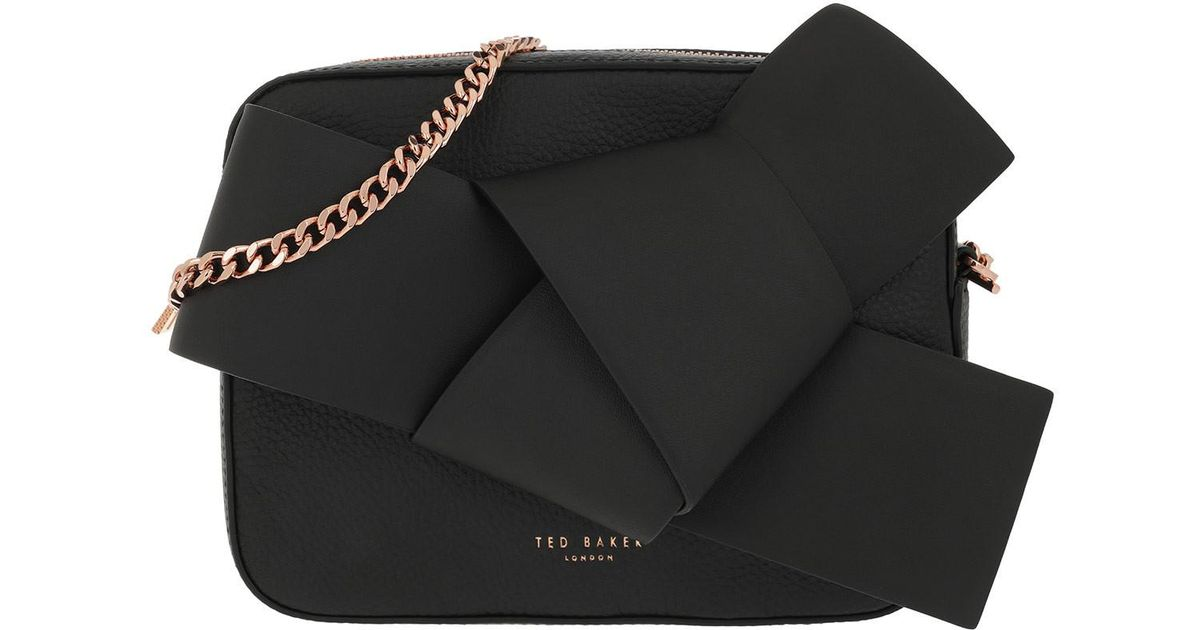 db802a80f Ted Baker Aamelia Crossbody Bag Black in Black - Lyst