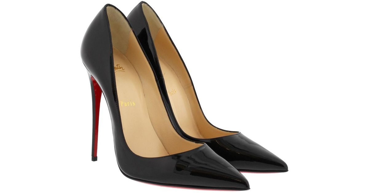 eb248e154c90 Christian Louboutin So Kate Leather 120mm Pumps in Black - Save 14% - Lyst