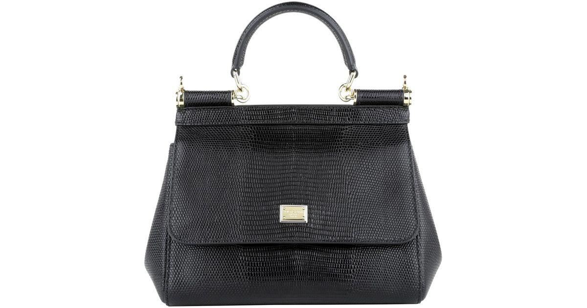 Dolce   Gabbana Mini Bag Stampa Iguana Nero in White - Lyst 570206acf73ba