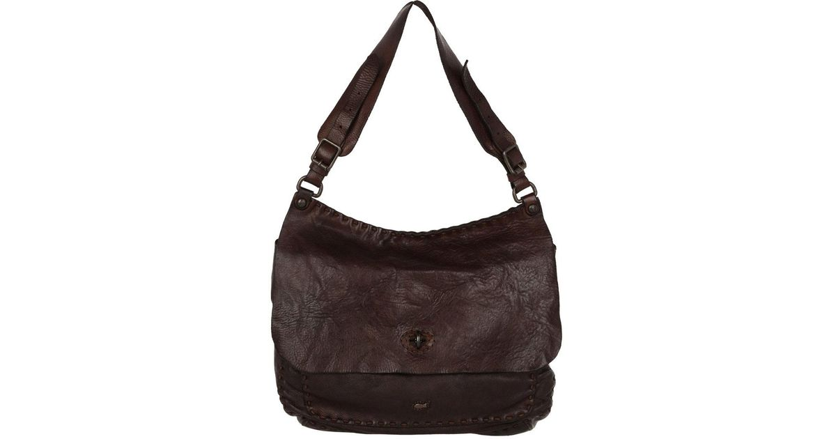 Campomaggi Monospalla Satchel Bag Moro in Brown - Lyst f92ef69b071a2
