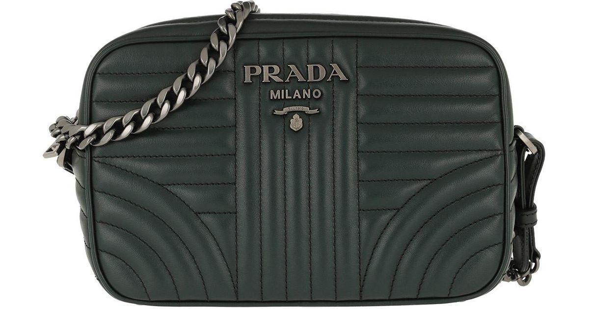 44417fb7e5cf Prada Diagramme Crossbody Bag Smeraldo3 in Green - Lyst