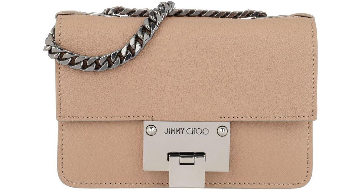 19cb6f3cf01a Jimmy Choo Rebel Soft Mini Crossbody Bag Ballet Pink in Pink - Lyst