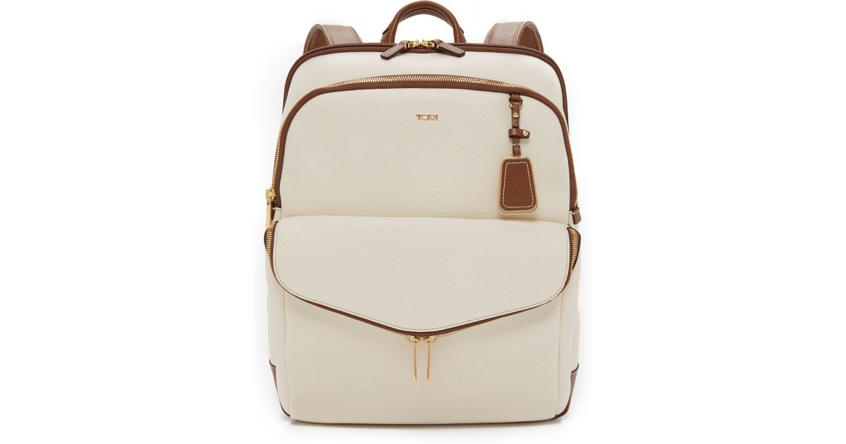 08dad376445 Lyst - Tumi Harlow Backpack in Natural
