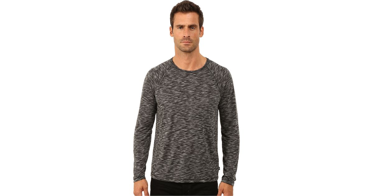 Knitting Joining Raglan Seams : John varvatos long sleeve raglan knit crew neck with raw