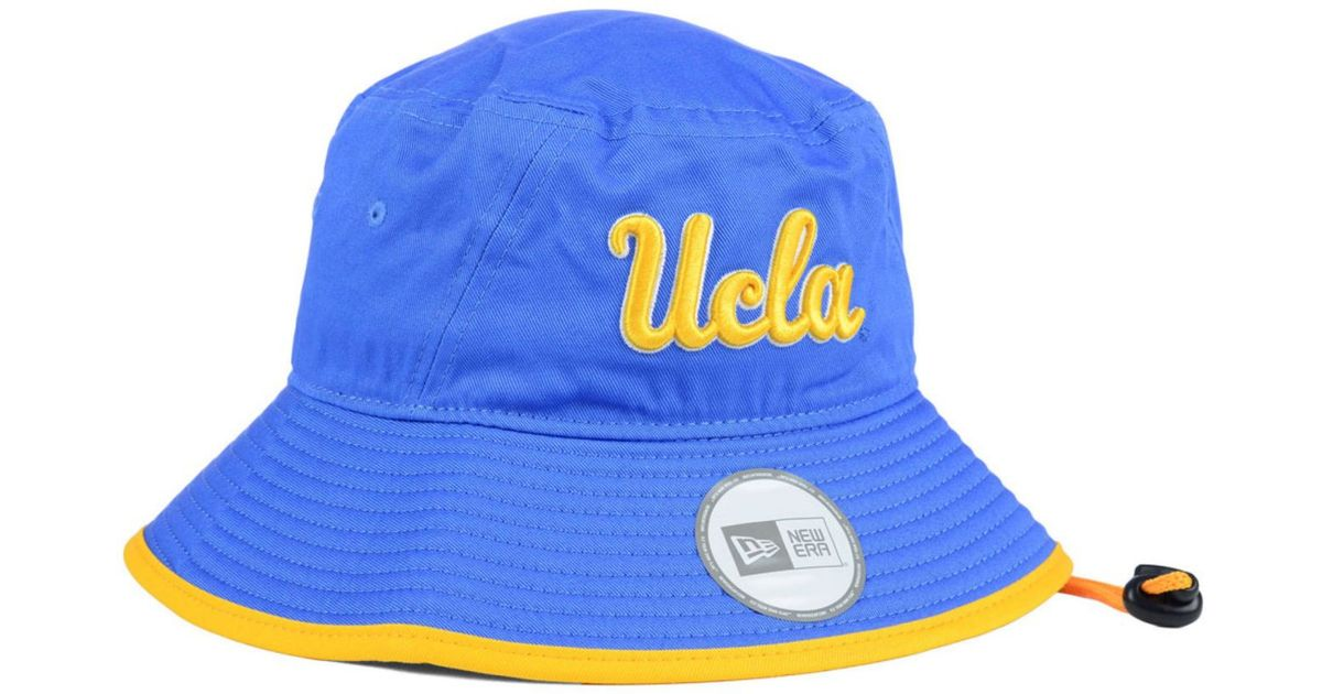 classic fit d647f f57ff KTZ Ucla Bruins Tip Bucket Hat in Blue for Men - Lyst