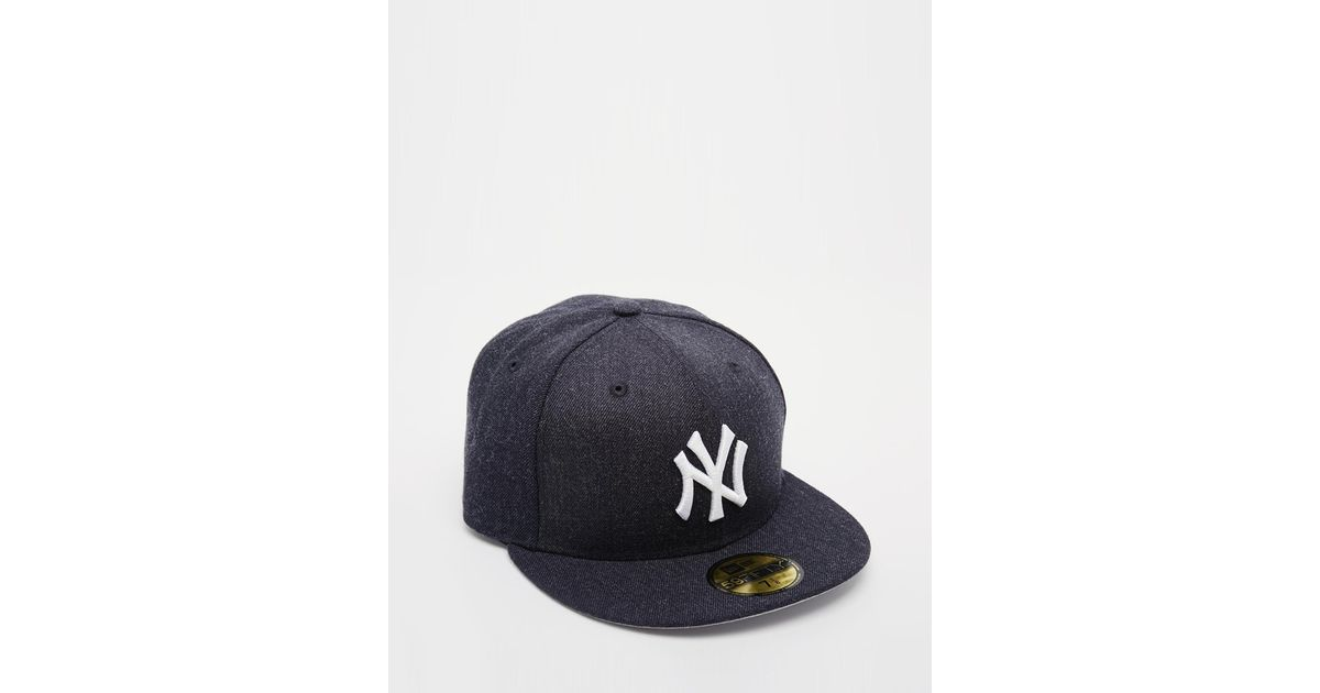 eca6d1f79bbaba Lyst - KTZ 59Fifty Ny Yankees Fitted Cap in Black for Men