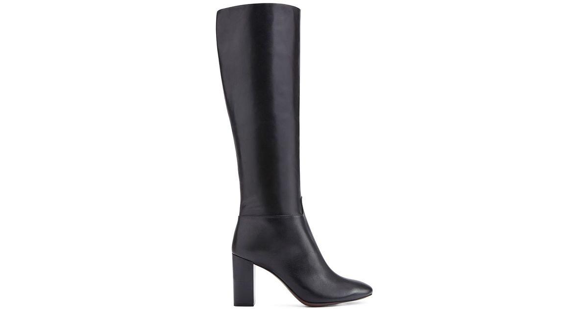 dddc2dbe5 Tory Burch Devon Tall Boot in Black - Lyst
