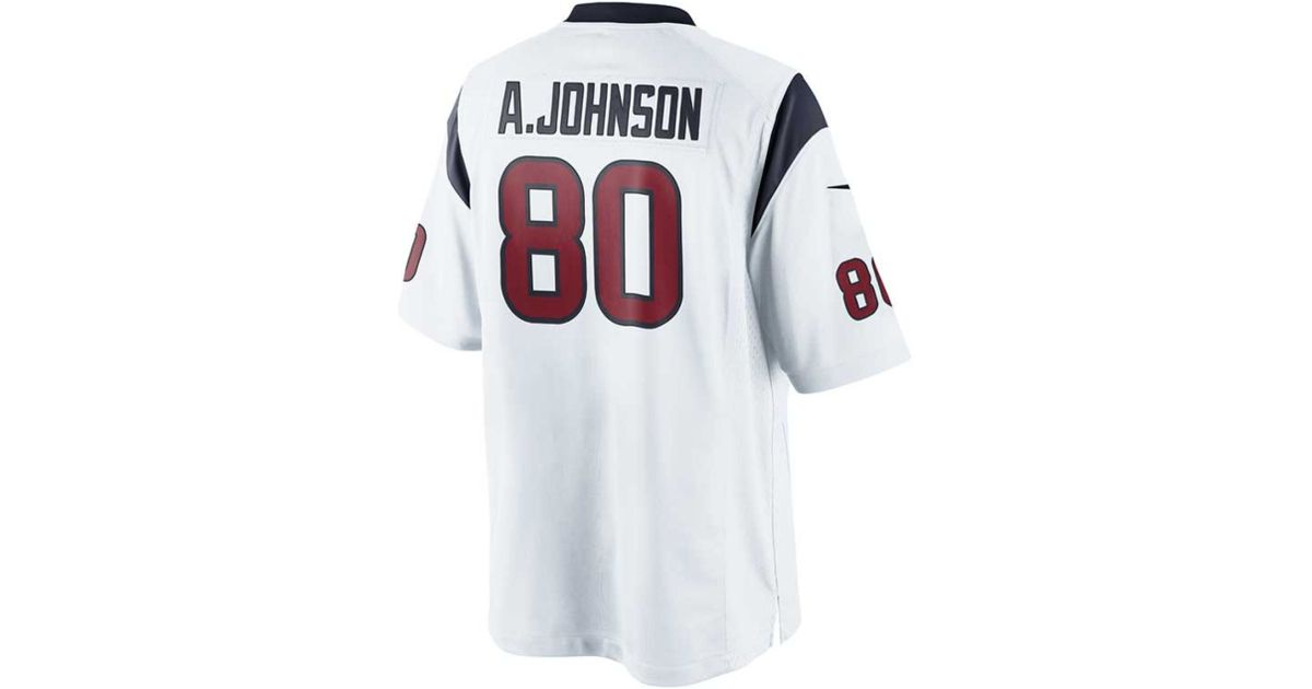 huge discount 97f65 ccb6d Nike - White Men's Andre Johnson Houston Texans Limited Jersey for Men -  Lyst