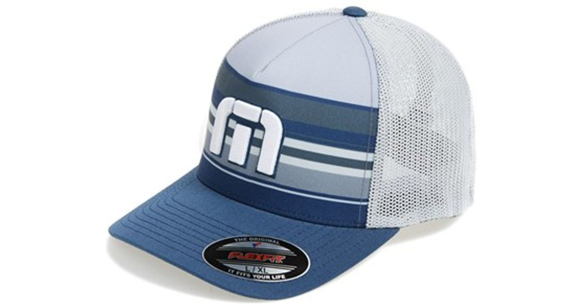 detailed look 968bb 43bc5 ... discount code for lyst travis mathew cylinder trucker hat in blue for  men 7d3e4 51c70