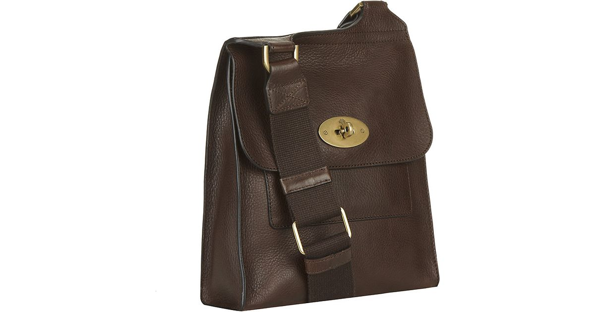 420e5df6b0 Mulberry Antony Cross Body Bag in Brown for Men - Lyst