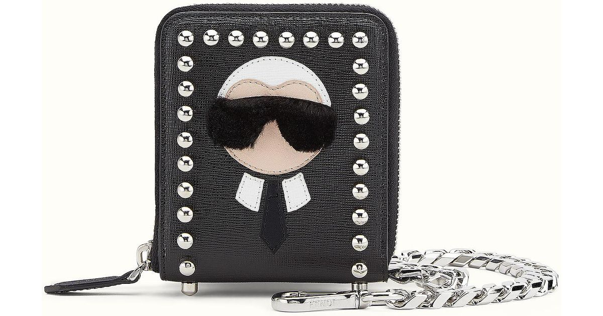 89df4b6a5c25 Lyst - Fendi Karlito Wallet Karlito Wallet in Black for Men