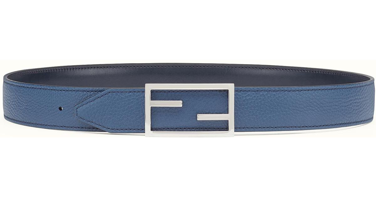 Fendi Belt in Blue for Men | Lyst