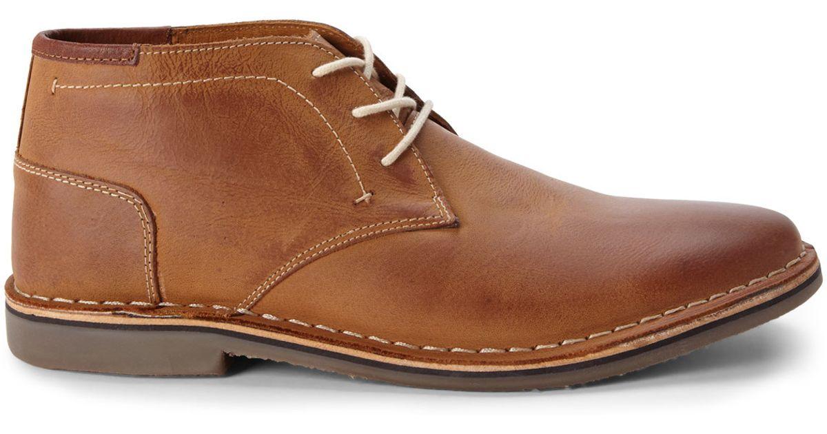 f7da0030436 Lyst - Steve Madden Tan Hestonn Chukka Boots in Brown for Men