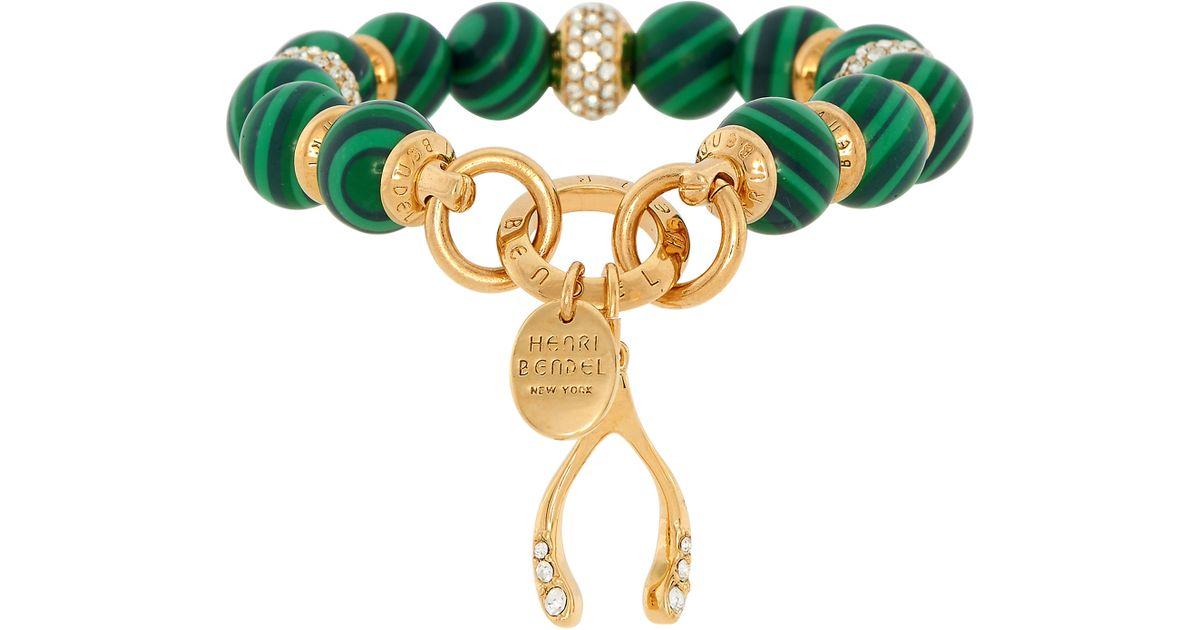 e7fa078ebec16 Henri Bendel - Metallic Boho Grand Charm Bracelet - Lyst