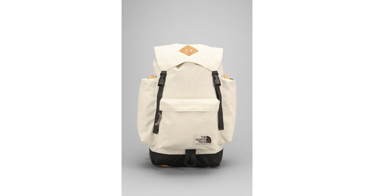 09ee0c658f The North Face Premium Rucksack in White for Men - Lyst